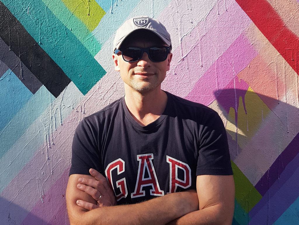 Dariusz Kościelniak portret w Miami, USA