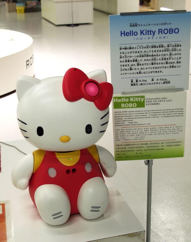 Hello-Kitty robot z opcją 20 000 wzorów konwersacji