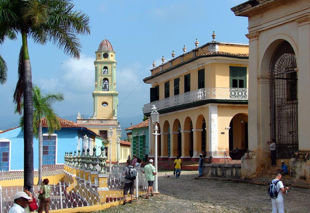 piękna architektura w Trynidadzie