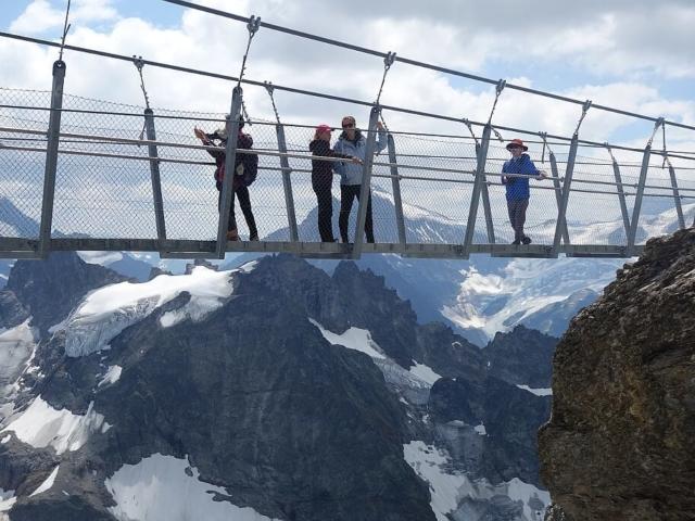 Most wiszący Titlis