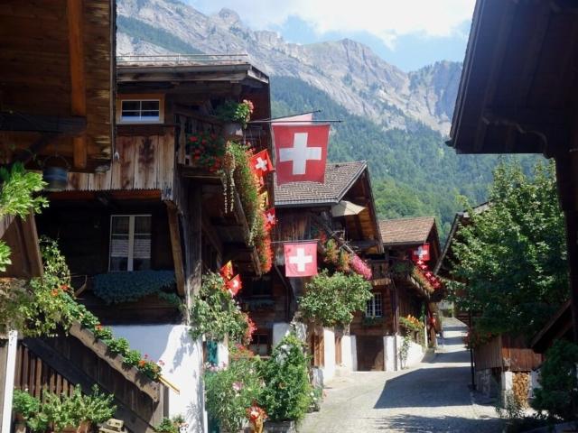 Szwajcarskie domy