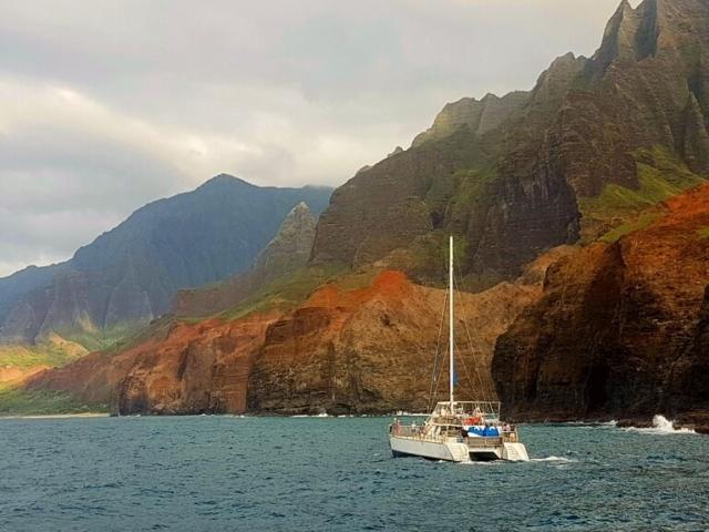 Jacht na Hawajach