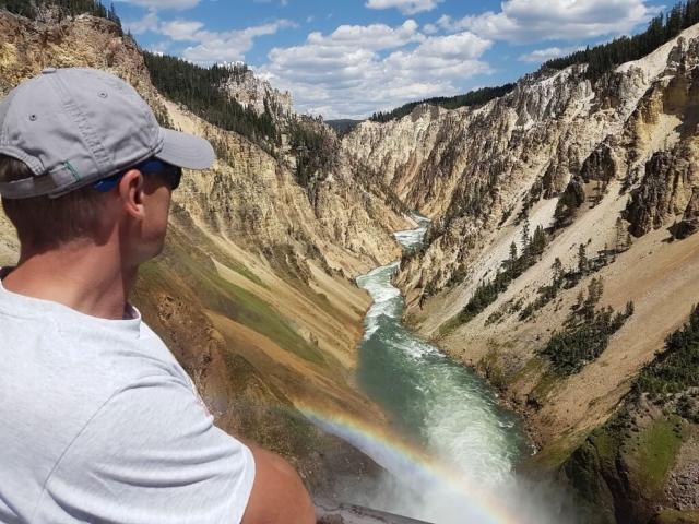 Kanion rzeki Yellowstone