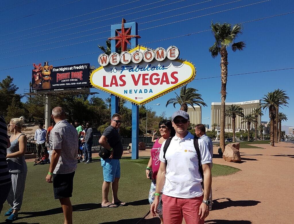 Darek w Las Vegas