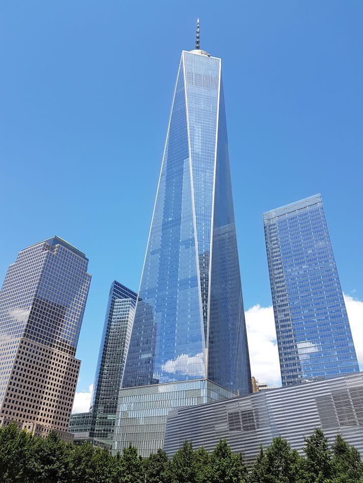 Nowy Jork - One World Trade Center wybudowany w miejscu Twin Towers