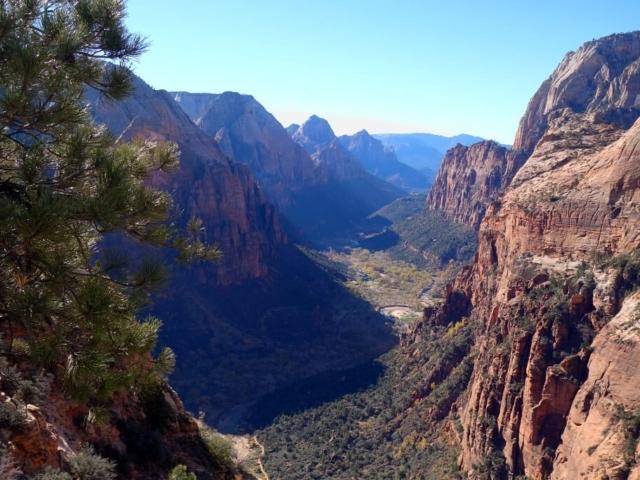 panorama Park Narodowy Zion