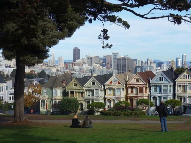 "San Francisco domy z serialu ""Pełna Chata"""