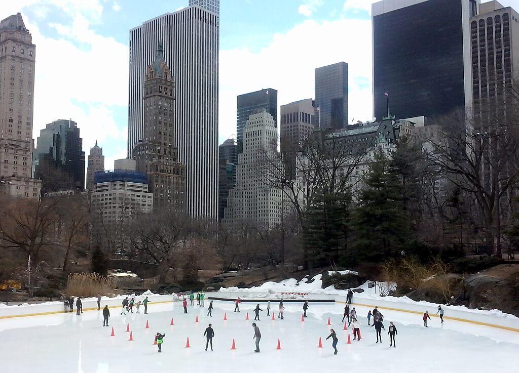 lodowisko w Central Park, Nowy Jork