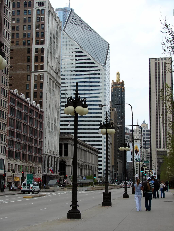 ulica w Chicago