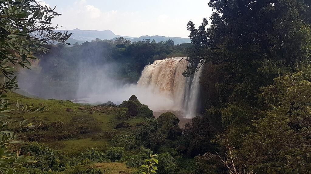 Wodospady, Nil Błękitny