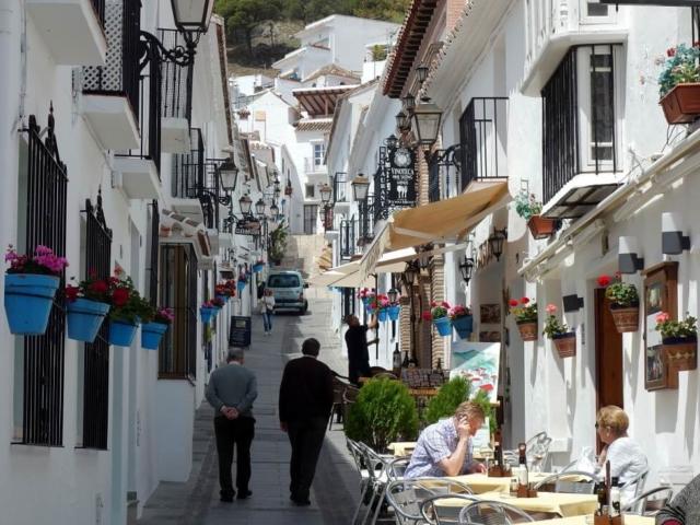 Hiszpańska uliczka zaprasza...