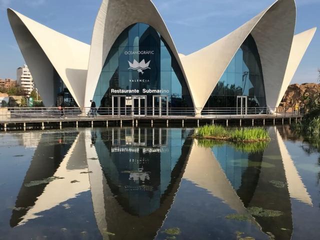 Nowoczesne Oceanarium w Walencji