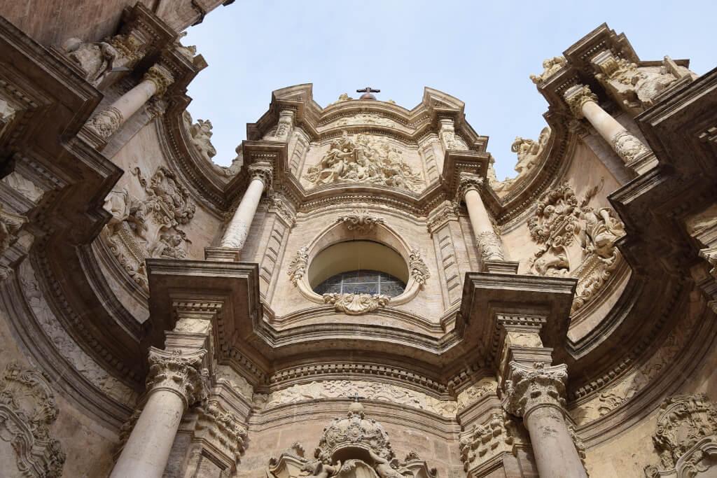 Fasada katedry w Walencji