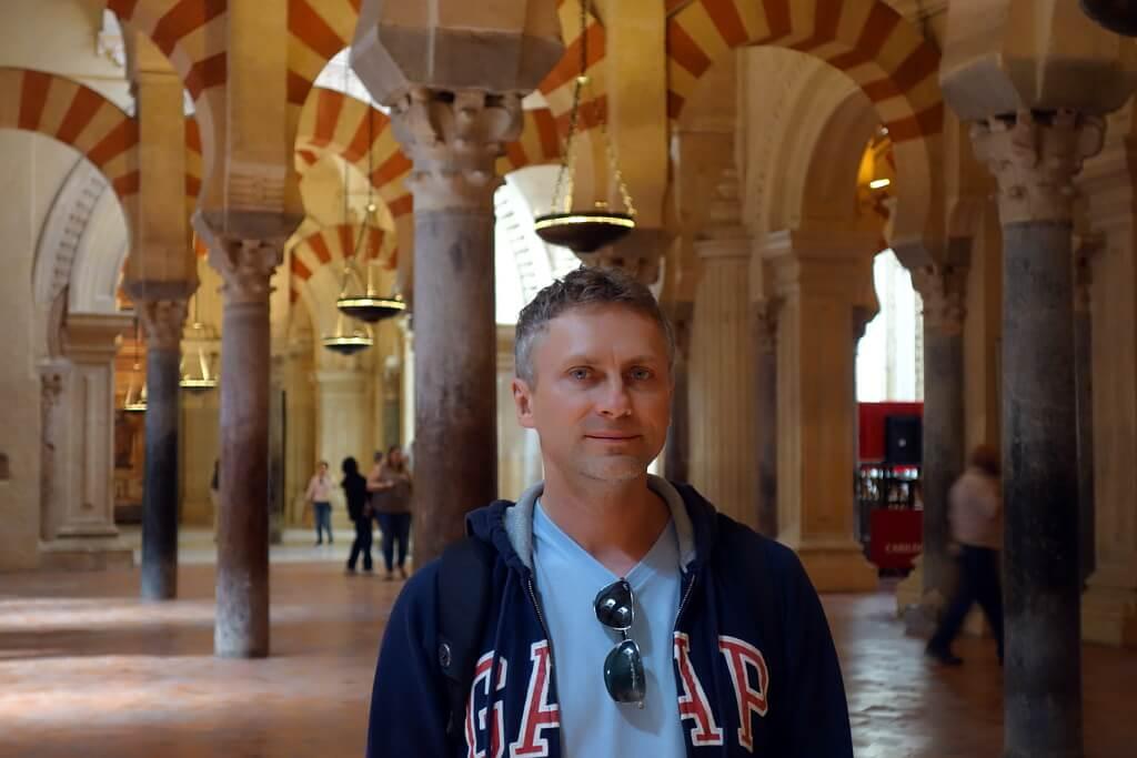 Unikatowe, przepiękne wnętrze Mezquity, katedry, która była meczetem