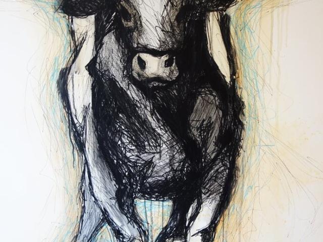 obraz byka