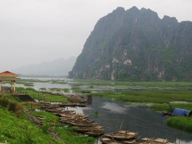 Pola ryżowe i charakterystyczne magoty