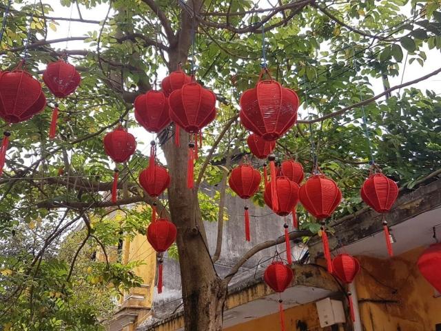 Lampiony w Hoi An